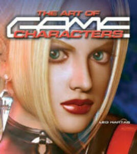The Art of Game Characters - Leo Hartas - cover