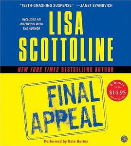Final Appeal CD Low Price - Lisa Scottoline - cover