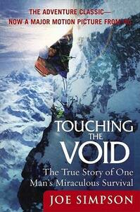Touching the Void: The True Story of One Man's Miraculous Survival - Joe Simpson - cover