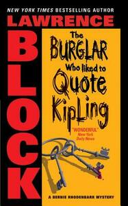Burglar Who Like to Quote Kipling, the - Lawrence Block - cover