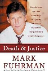 Death and Justice - Mark Fuhrman - cover