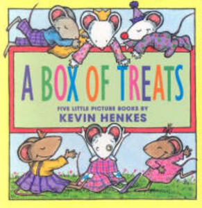 A Box of Treats: Five Little Picture Books about Lilly and Her Friends - Kevin Henkes - cover