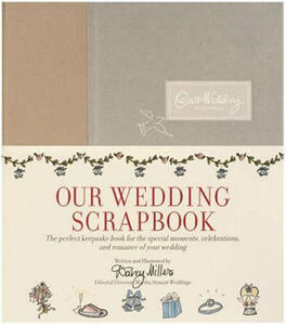 Our Wedding Scrapbook - Darcy Miller - cover