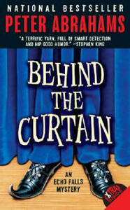 Behind the Curtain - Peter Abrahams - cover