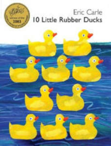 10 Little Rubber Ducks - Eric Carle - cover