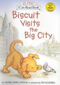 Biscuit Visits The Big City - Alyssa Satin Capucilli - cover