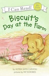 Biscuit's Day At The Farm - Alyssa Satin Capucilli - cover