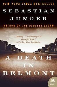 A Death in Belmont - Sebastian Junger - cover