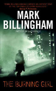 The Burning Girl - Mark Billingham - cover