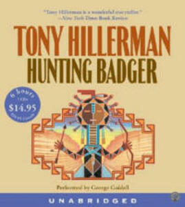 Hunting Badger Low Price CD - Tony Hillerman - cover