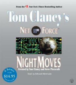 Tom Clancy's Net Force #3: Night Moves Low Price CD - Tom Clancy - cover