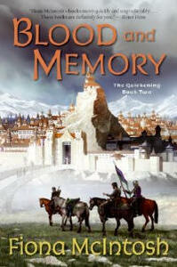 Blood and Memory: The Quickening Book Two - Fiona McIntosh - cover