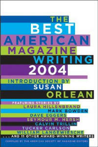 The Best American Magazine Writing 2004 - cover