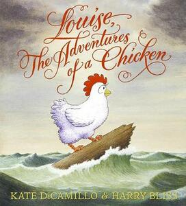Louise, the Adventures of a Chicken - Kate DiCamillo - cover