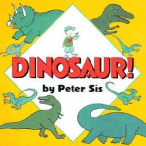 Dinosaur! Board Book - Peter Sis - cover