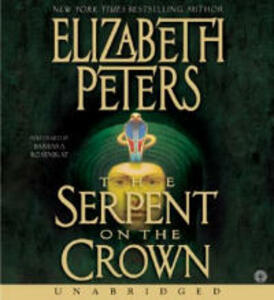 Serpent on the Crown CD - Elizabeth Peters - cover