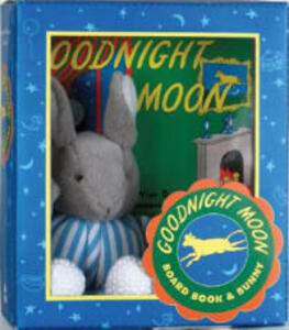 Goodnight Moon: Board Book and Bunny - Margaret Wise Brown - cover