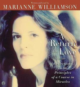 A Return to Love CD - Marianne Williamson - cover