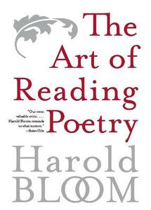 The Art of Reading Poetry - Harold Bloom - cover