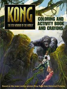 King Kong Coloring and Activity Book and Crayons - Sadie Chesterfield,Peter Bollinger - cover