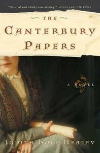 The Canterbury Papers (was entitled Lost Letters of Aquitaine) - Judith Koll Healey - cover