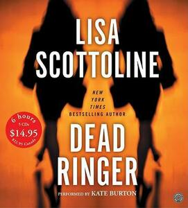 Dead Ringer Low Price CD - Lisa Scottoline - cover