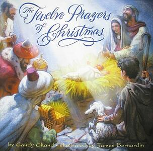 The Twelve Prayers of Christmas - Candy Chand - cover