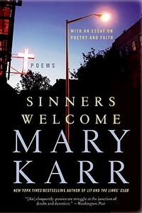 Sinners Welcome - Mary Karr - cover