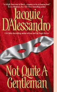 Not Quite A Gentleman - Jacquie D'Alessandro - cover