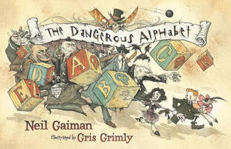 The Dangerous Alphabet - Neil Gaiman - cover