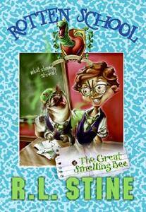 Rotten School #2: The Great Smelling Bee - R L Stine - cover