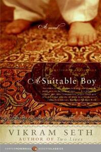 A Suitable Boy - Vikram Seth - cover