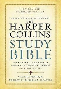 HarperCollins Study Bible: Fully Revised And Updated - Harold W Attridge - cover