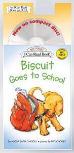 Biscuit Goes to School - Alyssa Satin Capucilli - cover