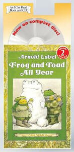 Frog and Toad All Year Around Book and CD - Arnold Lobel - cover