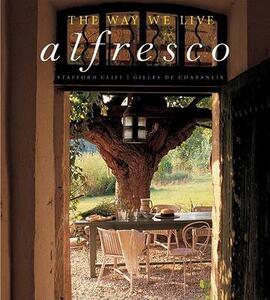 Way We Live Alfresco - Stafford/De Chabaneix - cover