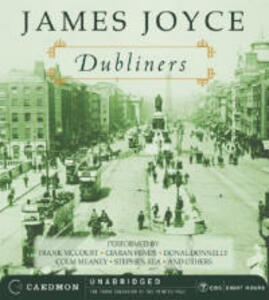 Dubliners Unabridged - James Joyce - cover