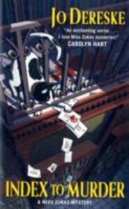 Index to Murder: A Miss Zukas Mystery - Jo Dereske - cover