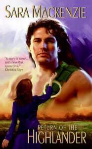 Return Of The Highlander - Sara Mackenzie - cover