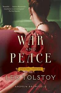 War and Peace: Original Version - Leo Tolstoy - cover