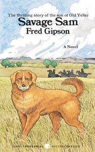 Savage Sam - Fred Gipson - cover
