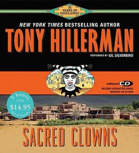 Sacred Clowns CD Low Price - Tony Hillerman - cover