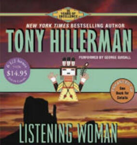 Listening Woman CD Low Price - Tony Hillerman - cover