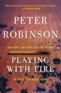 Playing with Fire - Peter Robinson - cover