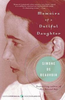 Memoirs of a Dutiful Daughter - Simone De Beauvoir - cover