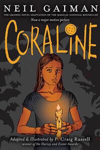 Coraline - Neil Gaiman - cover