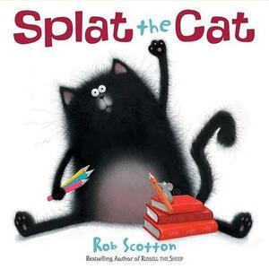 Splat the Cat - Rob Scotton - cover