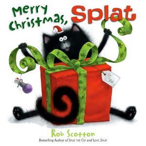 Merry Christmas, Splat - Rob Scotton - cover