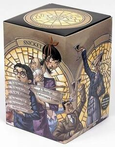 A Series of Unfortunate Events Box - Lemony Snicket - cover