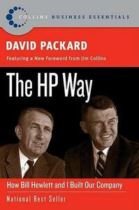 The HP Way: How Bill Hewlett and I Built Our Company - David Packard - cover